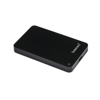 Intenso Black Memory Station USB 3.0 Portable Hard Drive 1TB 6021560-0
