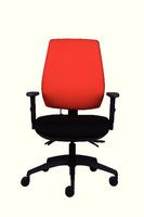 FF Jemini plus High Back Task Chair Black-0