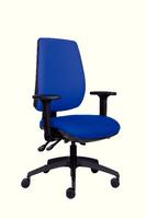 FF Jemini plus High Back Task Chair Blue-0
