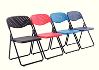 Jemini Folding Chair Black-0