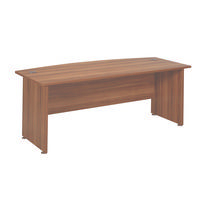 Avior 2000mm Bow Front Desk Cherry KF838255-0