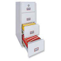 Phoenix 4 Drawer Fire File 90 Minute Fire Rated 2244-0