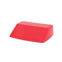 Addis 54 Litre Fliptop Bin Lid Red 512568-0