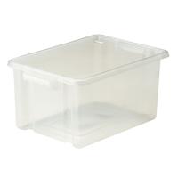 Strata Midi Storemaster Box 14.5L Clear HW044-CLEAR-0