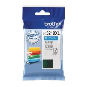 Brother Cyan High Yield Inkjet Cartridge LC3219XLC-0