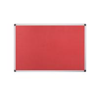 Bi-Office Felt Board 1200 x 900mm Red FA0546170-0