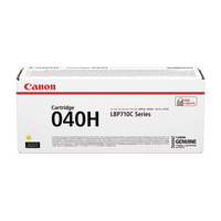 Canon 040H Yellow Laser Toner Cartridge High Yield 0455C001-0
