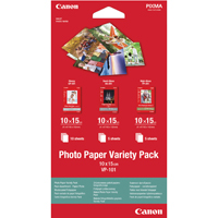 Canon Photo Paper Variety Pack 15cm VP-101 20 Sheets 0775B078-0