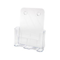 Deflecto Literature Holder A4 Clear 77001-0