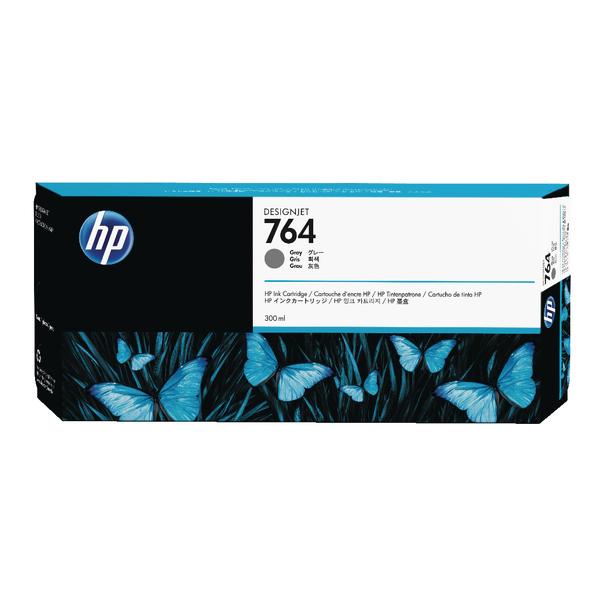 HP 764 Grey Designjet Ink Cartridge C1Q18A-0