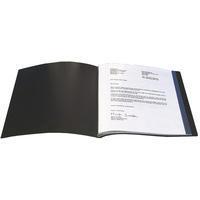 Q-Connect Presentation Display Book 40-Pocket Black