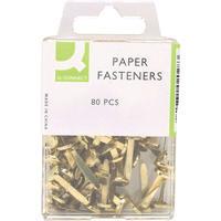 Q-Connect Paper Fastener 17mm Pk80 KF02028Q