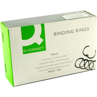 Q-Connect Binding Ring 19mm Pk100 KF02216