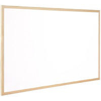 Q-Connect Dry Wipe Board White 600x900mm KF03571