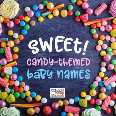 Sweet! Candy-style baby names