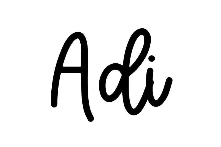 About the baby name Adi, at Click Baby Names.com