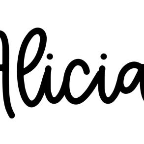 About the baby name Alicia, at Click Baby Names.com