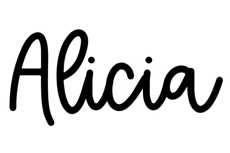 About the baby nameAlicia, at Click Baby Names.com
