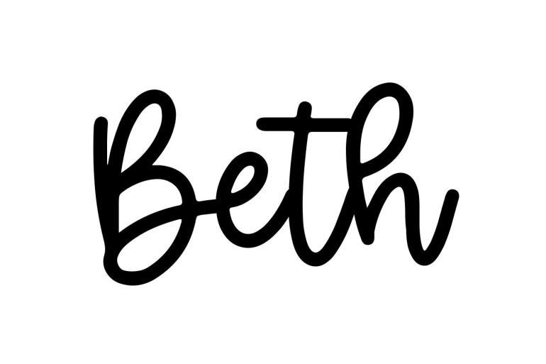 About the baby name Beth, at Click Baby Names.com