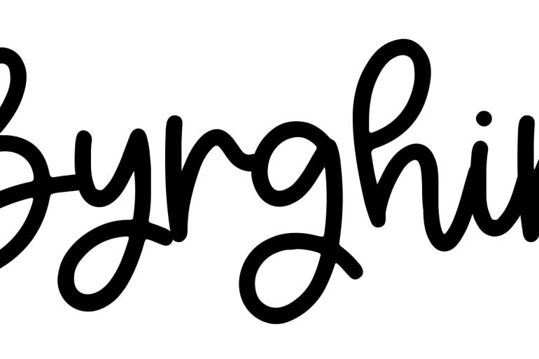About the baby name Byrghir, at Click Baby Names.com