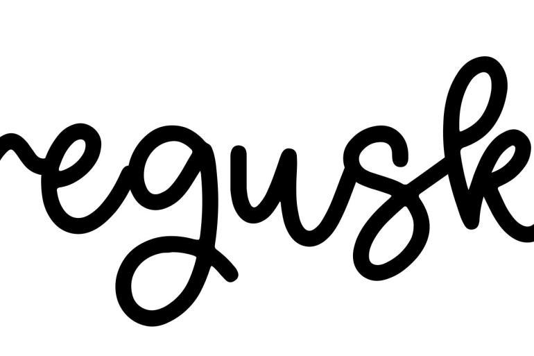 About the baby nameGreguska, at Click Baby Names.com