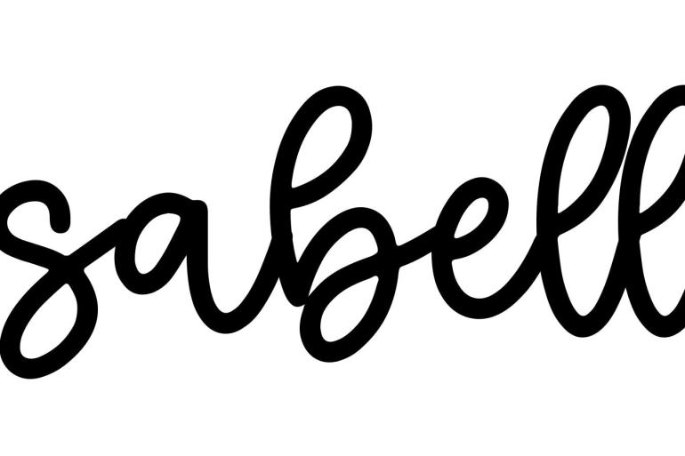 About the baby name Isabelle, at Click Baby Names.com