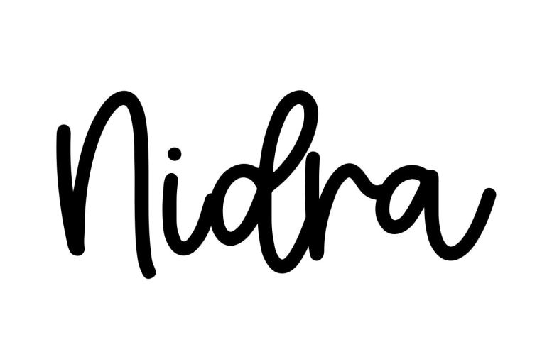 About the baby nameNidra, at Click Baby Names.com