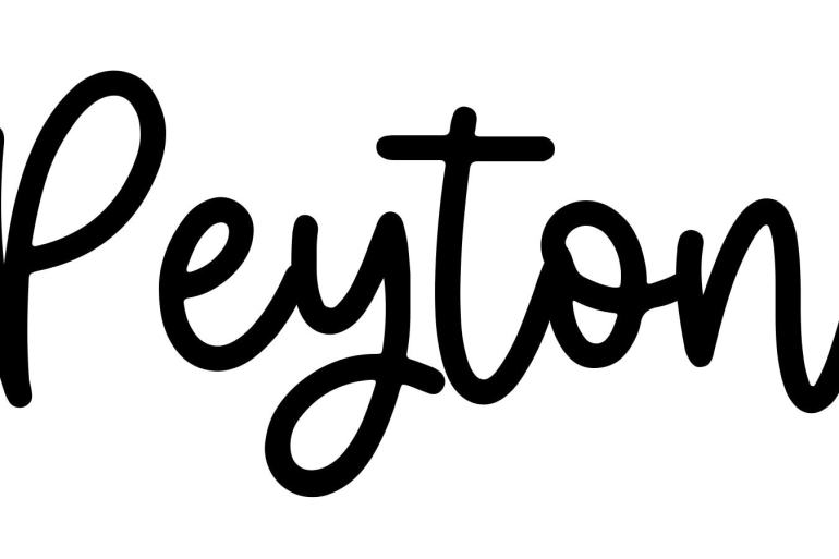 About the baby name Peyton, at Click Baby Names.com