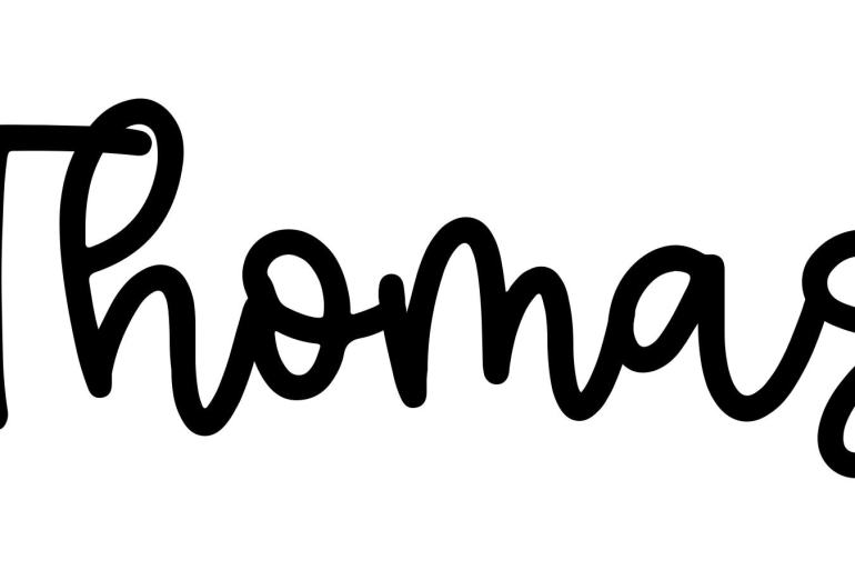 About the baby name Thomas, at Click Baby Names.com