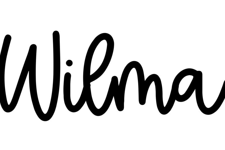 About the baby name Wilma, at Click Baby Names.com