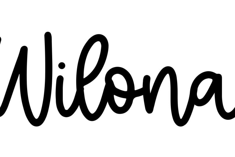 About the baby name Wilona, at Click Baby Names.com