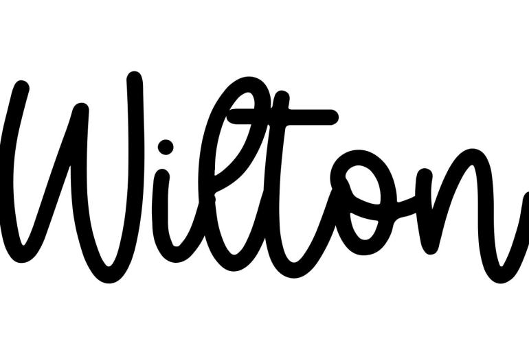 About the baby name Wilton, at Click Baby Names.com