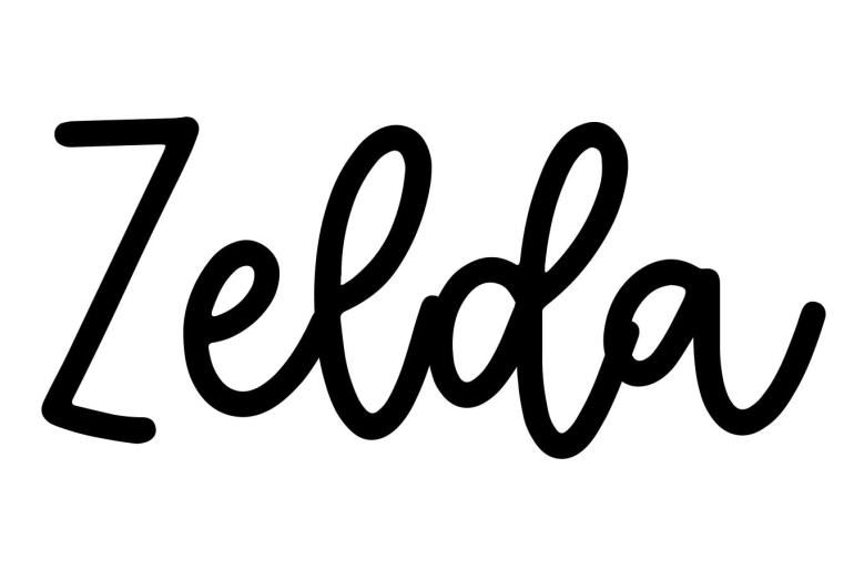 About the baby name Zelda, at Click Baby Names.com