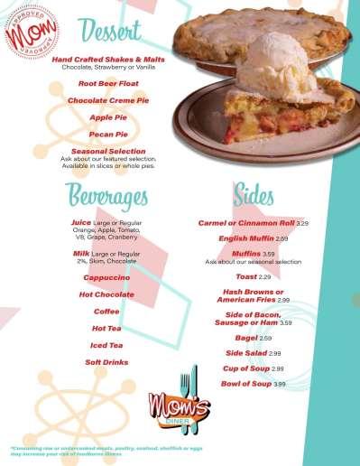 Mom's Diner menu-6