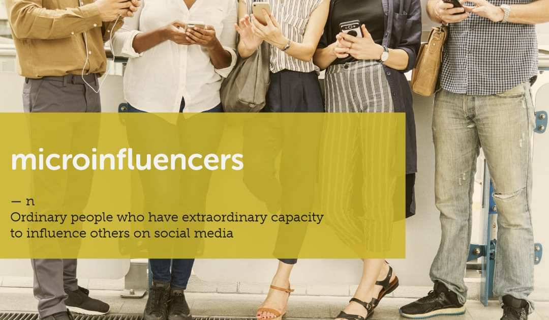 What is a microinfluencer?