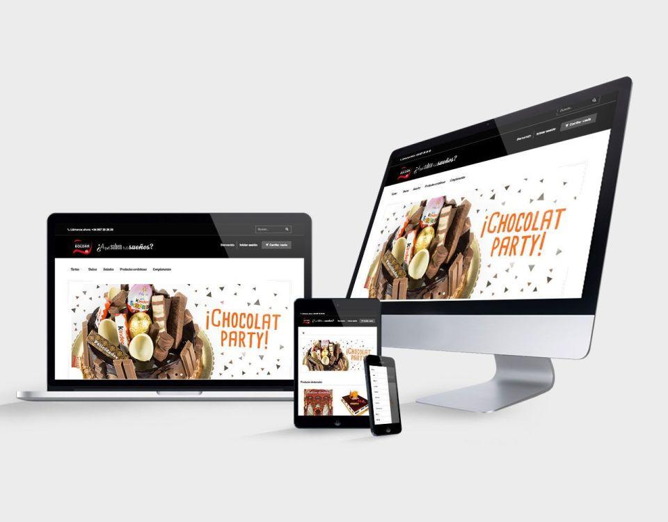 Tienda Online de Pastelerías Roldán