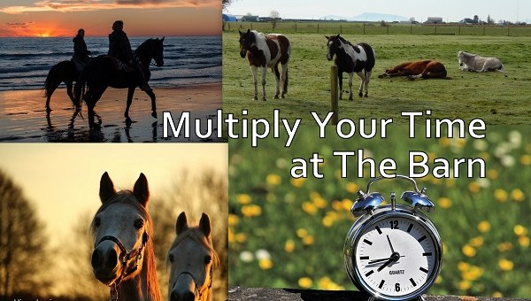 How to Multiply Your Time at The Barn