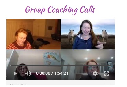 Recordings of Group Coaching Calls