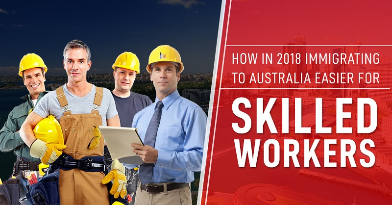 immigrating to australia for workers