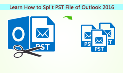 split Outlook PST Files in smaller parts