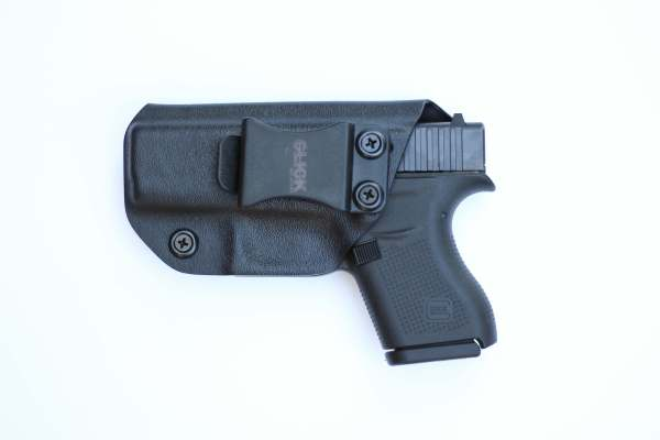 click holsters guardian holster in black with belt clip