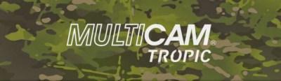 MultiCam™ tropic fabric kydex