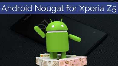 Android Nougat for Xperia Z5