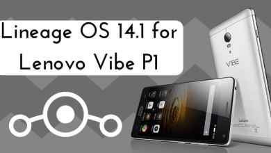 Lineage OS 14.1 on Lenovo Vibe P1