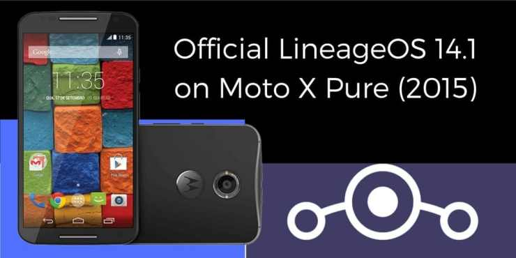Official LineageOS 14.1 on Moto X Pure (2015)