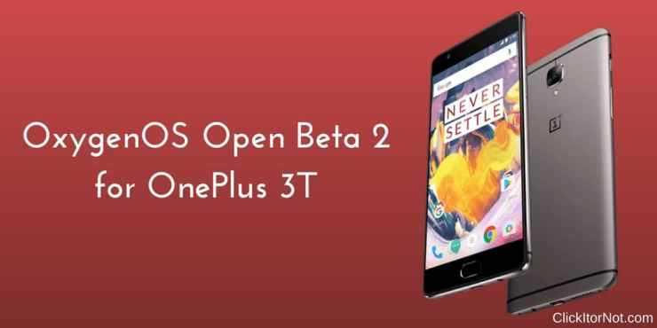 OxygenOS Open Beta 2 on OnePlus 3T