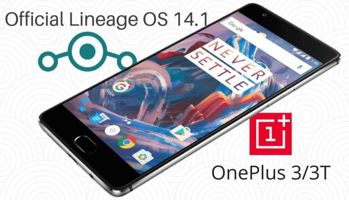 Lineage OS 14.1 on OnePlus 3/3T