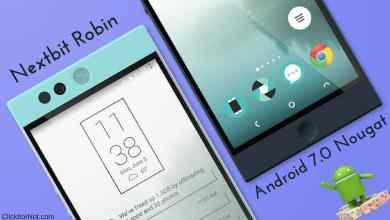 Android 7.0 Nougat on Nextbit Robin