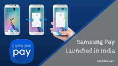Samsung Pay Launched in India