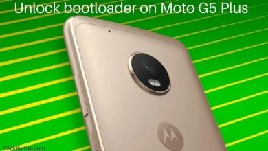 Unlock bootloader on Moto G5 Plus